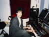 My studio in the East Village, NYC Juno 60, Voyetra 8, Simmons SDS7 pictured